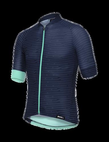 SOFFIO 2019 - JERSEY BLUE NAVY - Kerékpáros mez