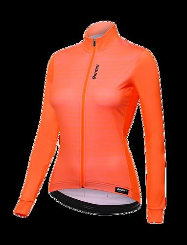 Santini Scia Jersey Women Orange - Kerékpáros Női felső