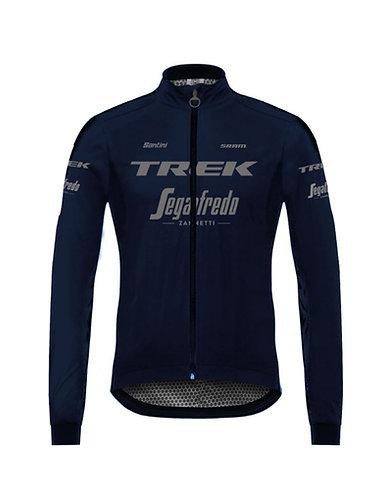 TREK-SEGAFREDO 2021 - MERCURIO RAIN JACKET - Kerékpáros téli eső Kabát