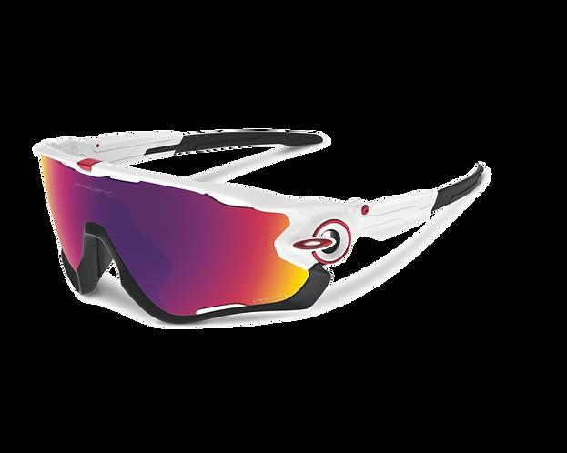 OAKLEY Jawbreaker Polished White / Prizm Road Lens - Sportszemüveg