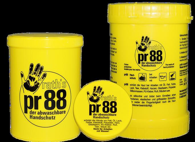 PR88 Skin Protection Cream 1L - lemosható kézvédő - folyékony kesztyű