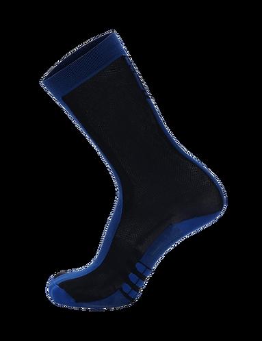 Santini CLASSE - SOCKS HIGH PROFILE BLUE NAVY - Kerékpáros magasszárú zokni