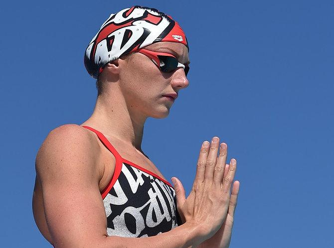 Arena Iron Lady úszó sapka