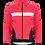 Thumbnail: Santini CORAL - JACKET GRANATINA for women - Kerékpáros Női Téli kabát