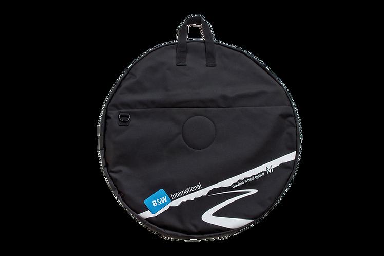 B&W Double Wheel Guard M Black - Kerék szállító táska Dupla
