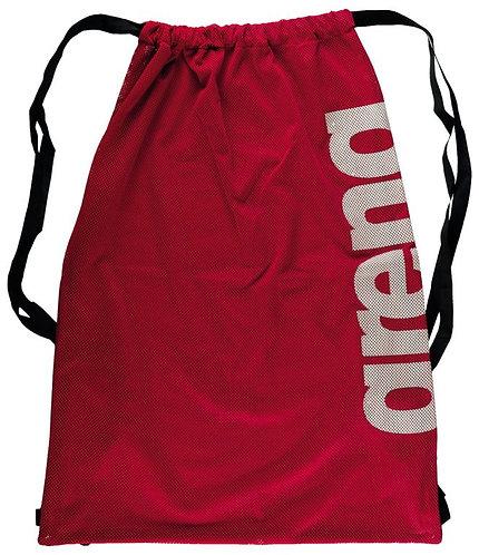 Arena fast mesh piros sporttáska úszáskiegészítő eszközöknek