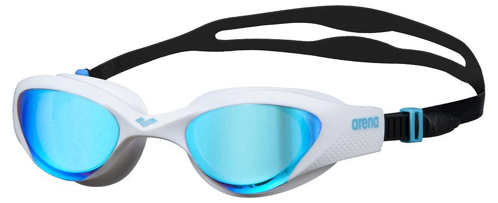 Arena the one mirror kék / fehér / fekete úszószemüveg