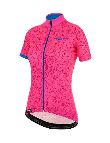 Santini GIADA HIP - Női kerékpáros mez pink