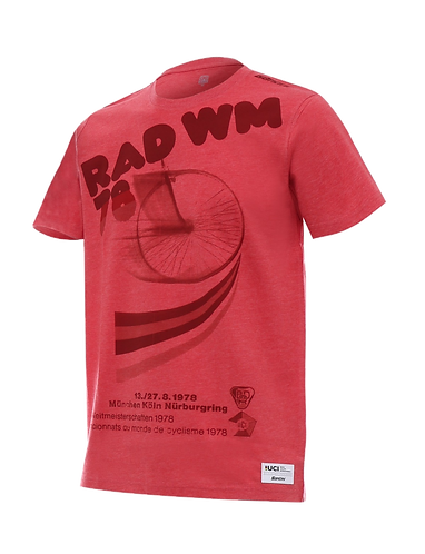 Santini UCI T-shirt 1978 world championships - Póló