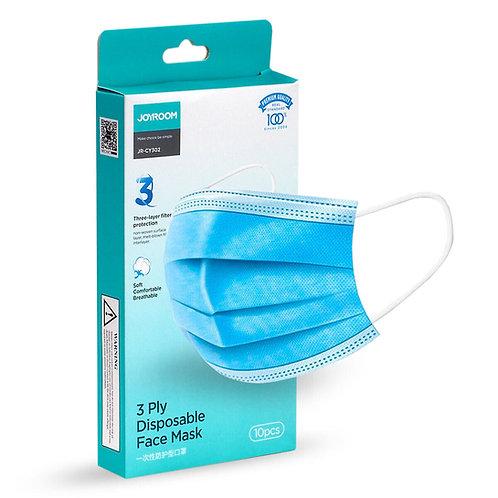 Joyroom JR-CY302 3 ply disp mask - 3 rétegű minősített orvosi eldobható maszk