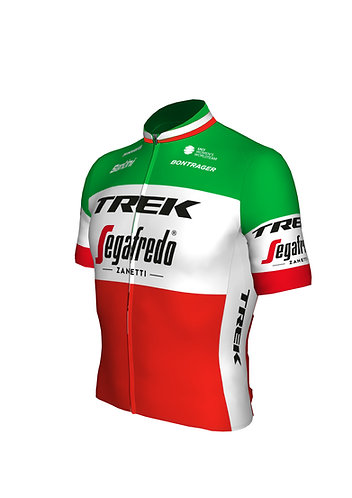 Santini TREK-SEGAFREDO 2021 - ROAD ITALIAN CHAM - Olasz bajnoki kerékpáros mez