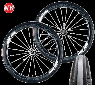 Tufo SH45 clincher(peremes) Carbon wheelset / Kerékszet