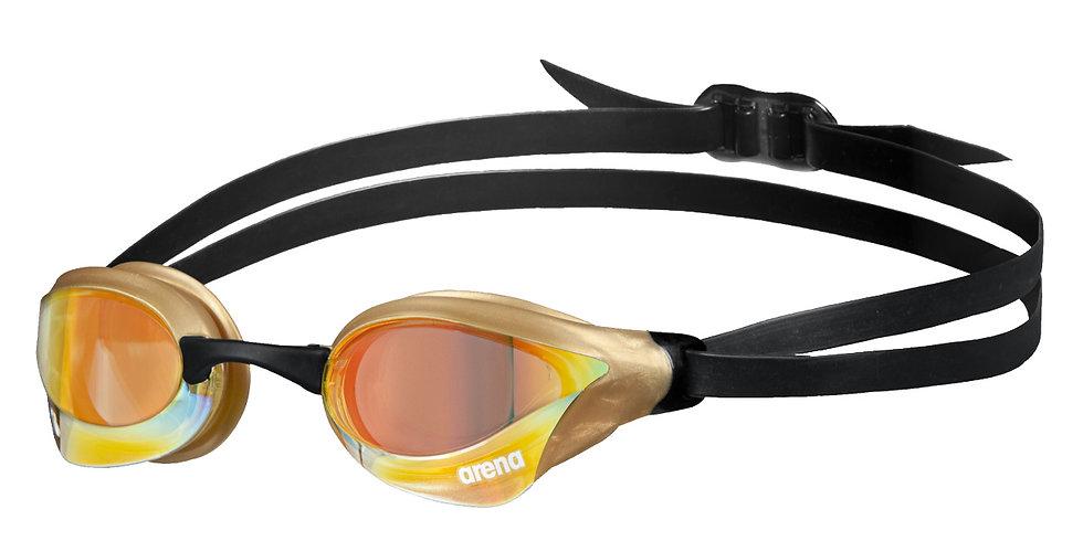 Arena cobra swipe mirror réz sárga / arany verseny úszószemüveg