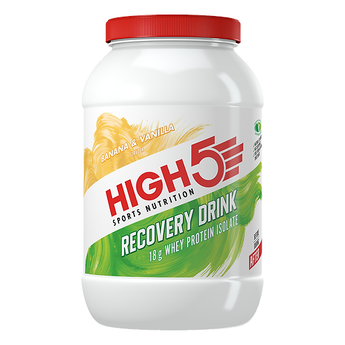 High5 Recovery Drink Banán/Vanilia 1,6Kg (~26 adag)