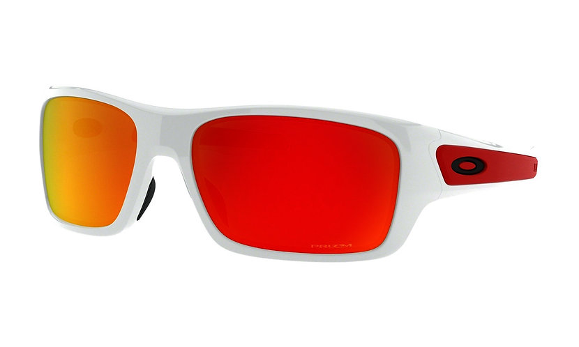 OAKLEY Turbine XS Polished White / PRIZM Ruby - sportszemüveg