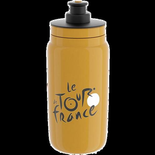 Elite Fly Tour de France 2018 Bottle Yellow - kerékpáros kulacs 550 ml
