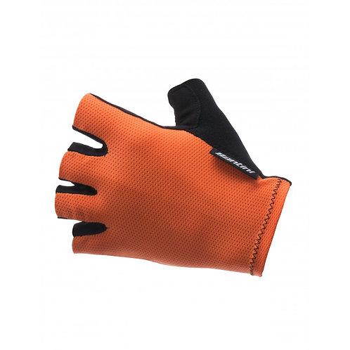 Santini Brisk - Kerékpáros kesztyű Narancs