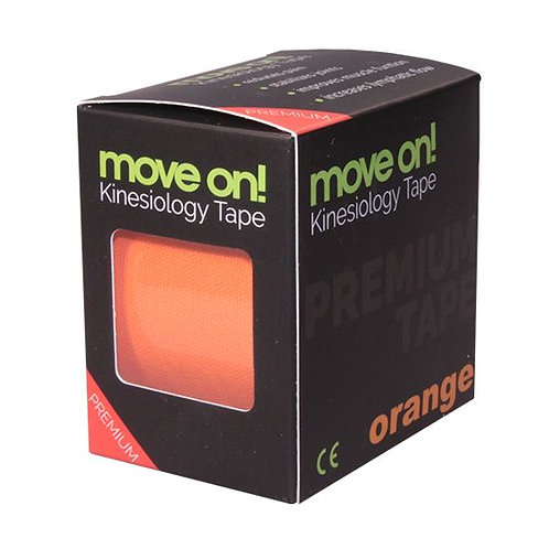 Move on! kinesiology tape - kineziológiai szalag narancs