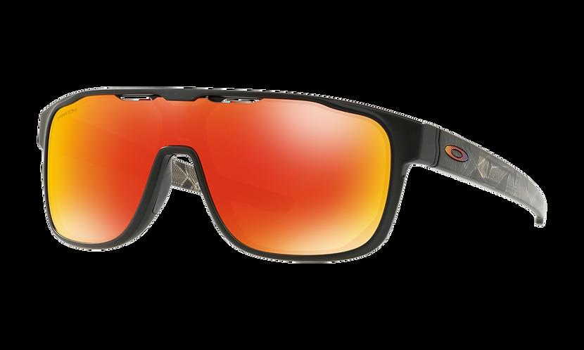 Crossrange Shield Matte Black Prizmatic / PRIZM Ruby lens - sportszemüveg