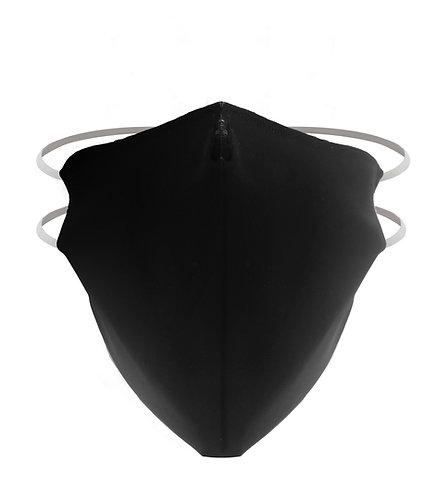 Santini Washable Filter Mask Adult Black - Mosható maszk Felnőt méret.