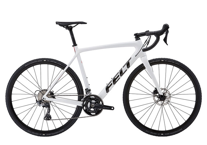 FELT 2021 FX ADVANCED+ GRX 600 WHITE - Cyclocross kerékpár