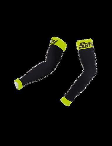 Santini TRI ARM COOLERS Yellow - triatlonos karhűtő