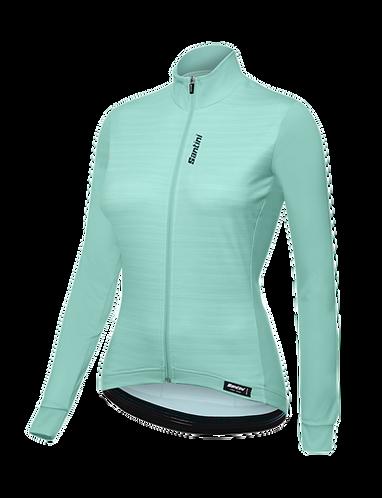 Santini Scia Jersey Women Water - Kerékpáros Női pulcsi