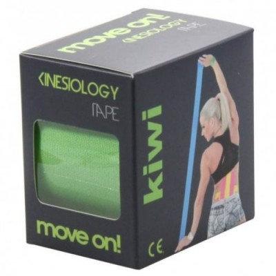 Move on! kinesiology tape - kineziológiai szalag zöld