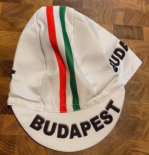 Budapest Kerékpáros sapka fehér