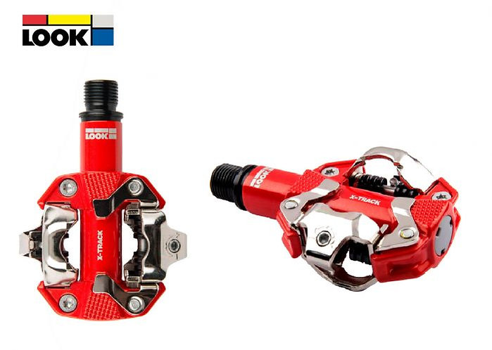 Look X-Track pedals Red - Pedál piros