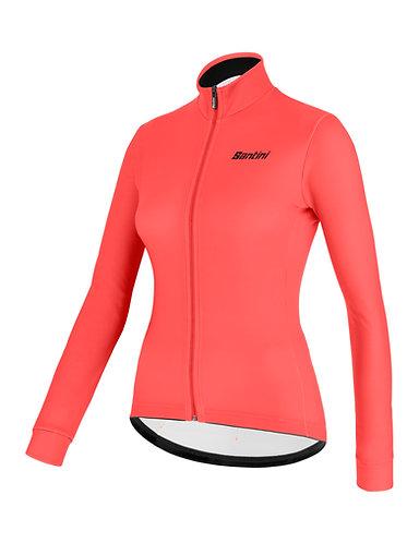 Santini colore jersey Women - Női Kerékpáros felső gránátalma