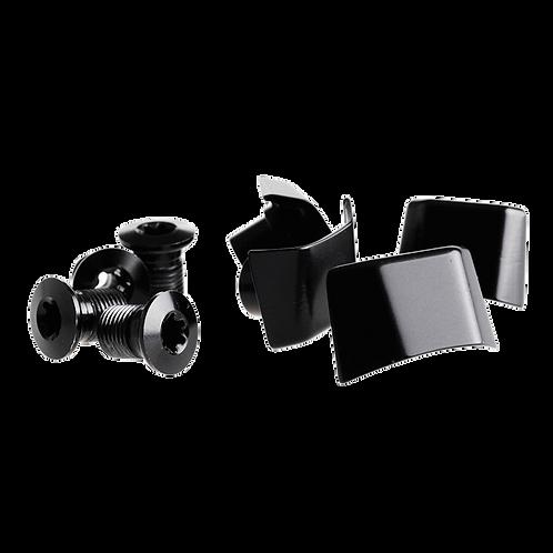 absoluteBLACK bolt & covers SH6800-9000 Black - lánctányér csavar szett + takaró