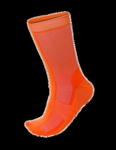 Santini CLASSE - SOCKS MEDIUMPROFILE FLASHY ORANGE-Kerékpáros középprofilú zokni