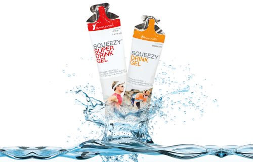 Squeezy Super Drink Gel Tasak Citromos