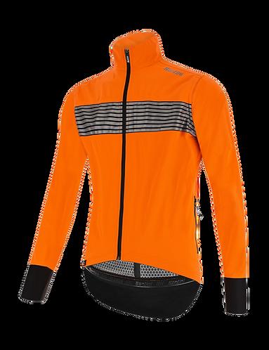 Santini GUARD MERCURIO - JACKET ORANGE - Kerékpáros kabát.