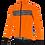 Thumbnail: Santini GUARD MERCURIO - JACKET ORANGE - Kerékpáros kabát.