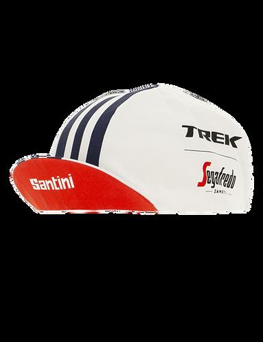 Santini TREK-SEGAFREDO 2020 - COTTON CAP - Kerékpáros Sapka