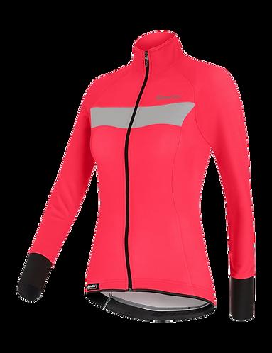 Santini VEGA H20 - JACKET Granatina for women - Kerékpáros Női Téli kabá