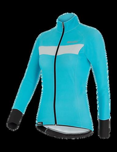 Santini VEGA H20 - JACKET AQUA for women - Kerékpáros Női Téli kabát