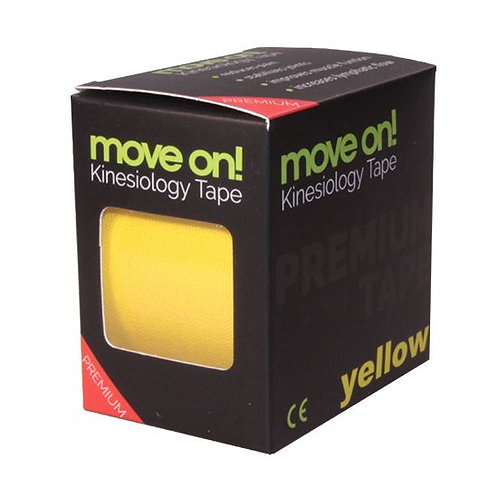 Move on! kinesiology tape - kineziológiai szalag Citrom