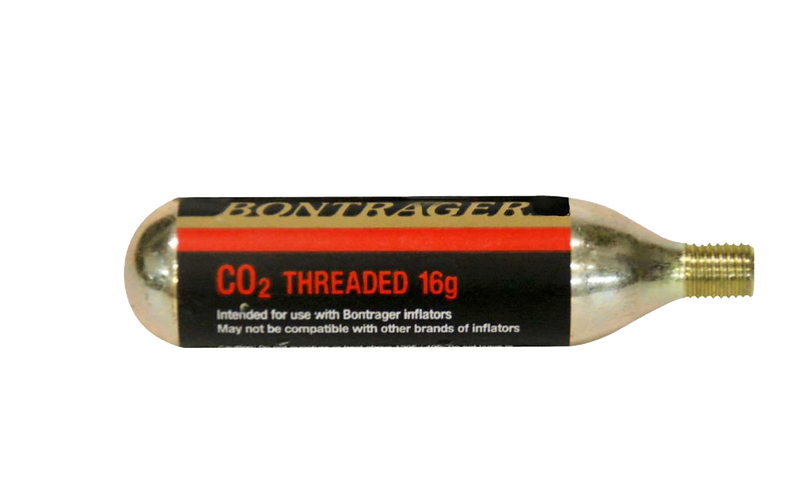 Bontrager 16gr CO2 Cartridge - CO₂ patron 16gr