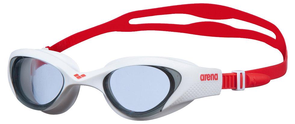 Arena the one világos füst / fehér / piros úszószemüveg