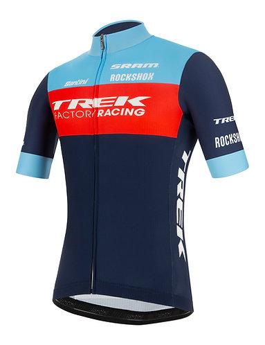 Santini TREK FACTORY RACING XC 2021 - FAN LINE JERSEY - Kerékpáros mez