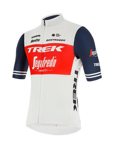 Santini TREK-SEGAFREDO 2021 FAN LINE JERSEY - Kerékpáros mez