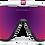 Thumbnail: OAKLEY Jawbreaker Polished White / Prizm Road Lens - Sportszemüveg