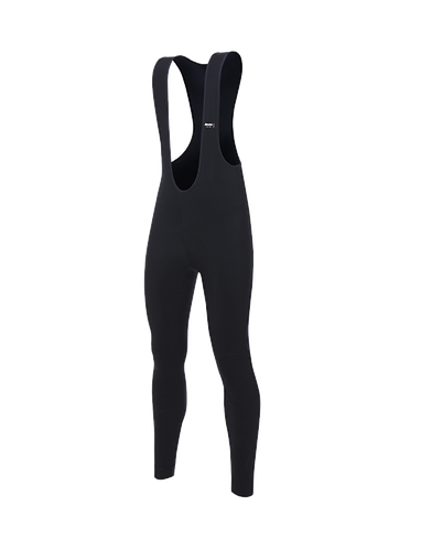 Santini Lava Thermal Bib Tights Black - Kerékpáros kantáros nadrág