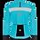 Thumbnail: Santini VEGA H20 - JACKET AQUA for women - Kerékpáros Női Téli kabát