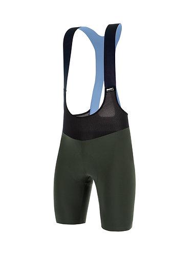Santini REDUX FORTUNA - Kerékpáros kantáros nadrág zöld