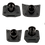Thumbnail: absoluteBLACK bolt & covers SH6800-9000 Black - lánctányér csavar szett + takaró