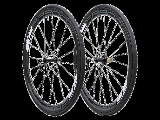 Tufo SH45 tubular (szingo)HI-composite Carbon wheelset / Kerékszet